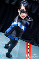 SDCC14 - Nightwing by BlizzardTerrak