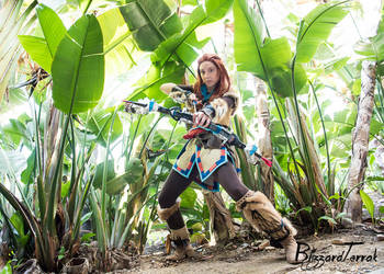 AX17 - Aloy (Horizon Zero Dawn) by BlizzardTerrak