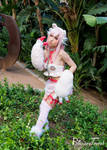 AX17 - Glommy Bear x Super Sonico by BlizzardTerrak