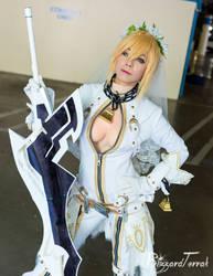 AX18 - Nero Bride by BlizzardTerrak