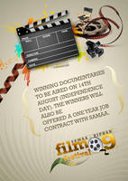 Film Festival Poster by aliather