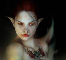 Demona by sheworeblue