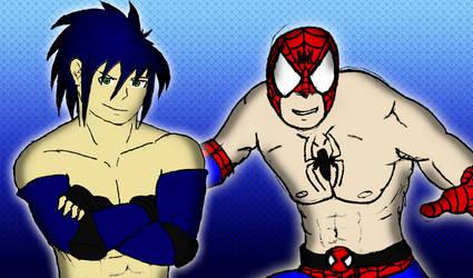 DWD7 - Spider-Man vs Sonic by soryukey