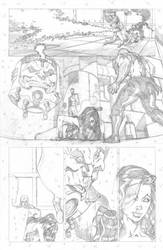 Red She Hulk backup 2 page 4 by RyanStegman