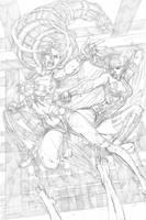 Red She Hulk backup 3 page 5 by RyanStegman