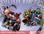 Marvel Holiday 2010 colors by RyanStegman