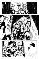 She-Hulks issue 3 page 2 bw by RyanStegman