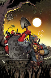 Deadpool 49 cover by RyanStegman