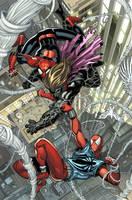 Scarlet Spider SPLASH by RyanStegman
