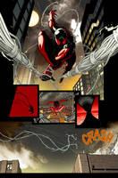 scarlet spider 3 page by RyanStegman