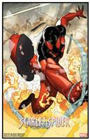 Scarlet Spider print by RyanStegman