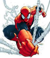 Spider-Man pinup by RyanStegman