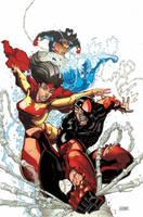 Scarlet Spider 8 cover by RyanStegman