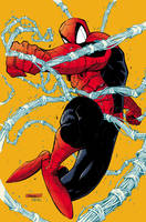 Spidey colored by RyanStegman