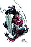 Superior Spider-Man 18 cover by RyanStegman