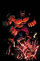 Savage Hulk Cover by RyanStegman