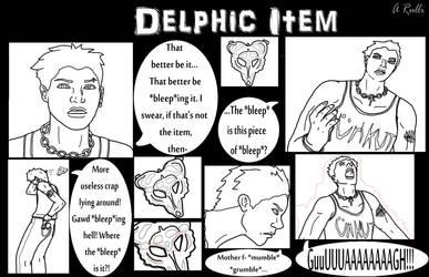 Delphic Item Part 1/5 by DanteVergilLoverAR