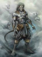 Monkey Lord by SARYTH