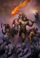 The Barbarian by SARYTH