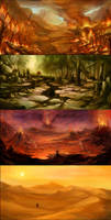 4 Lands by SARYTH