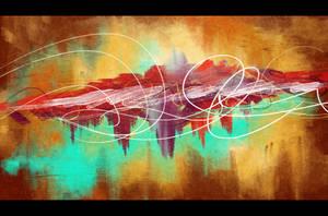 Abstract Painting by Michael Adamidis by MichaelAdamidisArt