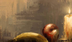Abstract Still Life Painting by Michael Adamidis by MichaelAdamidisArt