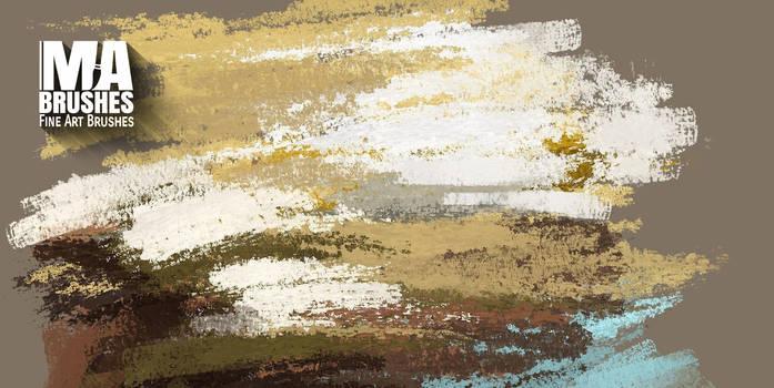 Realistic Photoshop Digital Painting Brushes by MichaelAdamidisArt