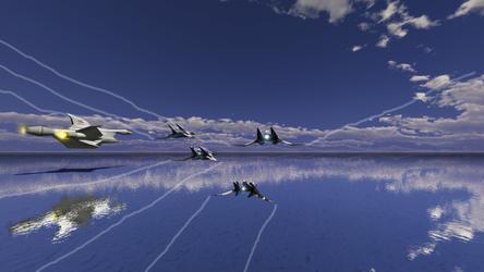 Flight over Aquas by Cm7372