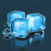 Bryce - stylised ice cubes by davidbrinnen