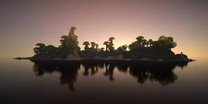 Octane_render_of_minecraft3 by davidbrinnen