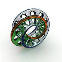 Funky gemstone shape by davidbrinnen