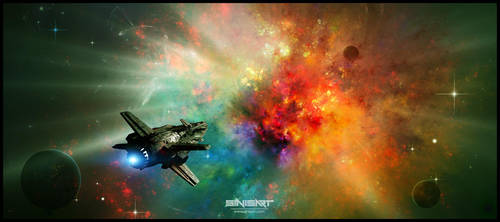 Burning heart by sinisart by Sinisart