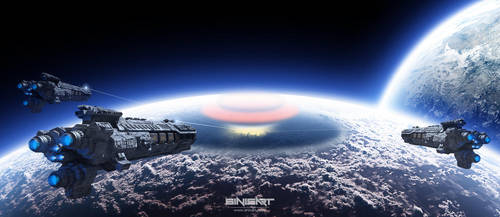 Planetary destruction by sinisart by Sinisart