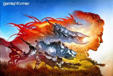 Gameinformer Horizon Zero Dawn by telpenar