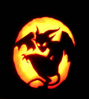 Halloween Pumpkin by MandiFlick