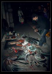 street artist by arumast