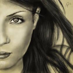 woman by lilalo-art