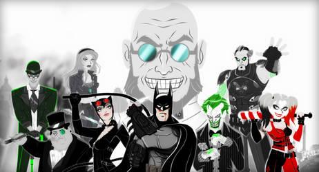 Batman: Arkham City Tribute by qBATGIRLq