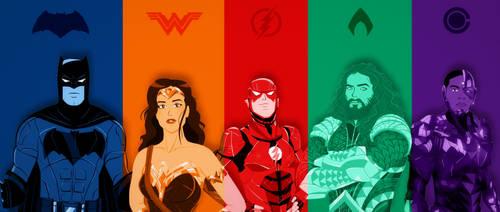 Justice League Wallpaper by qBATGIRLq