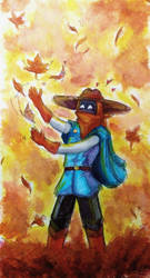 Nomad of Nowhere: Ode to Fall by qBATGIRLq