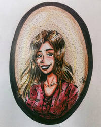 yet another portrait, wowz by qBATGIRLq
