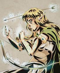 Archer Mage by qBATGIRLq