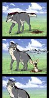 Crazy Aardwolf by NatalieDeCorsair