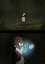 Otter's magic by NatalieDeCorsair