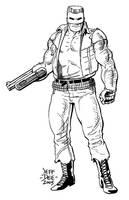 Man-Gun by JeffDee
