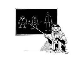 Monkey School by JeffDee