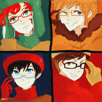 south park: goddamn glasses by Kite-Mitiko
