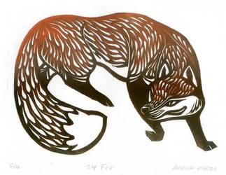 Sly Fox by AmandaMyers