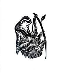 Sloth by AmandaMyers