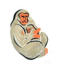 Snow Monkeys by AmandaMyers